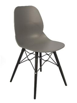Grey Seat Black Beech Legs
