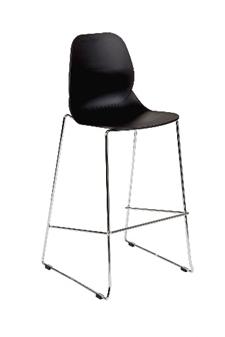 Linton Skid Base High Chair