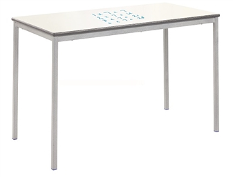 Premium Fully Welded Whiteboard Table With PU Edge