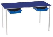 Light Grey Frame Blue Top Blue Trays