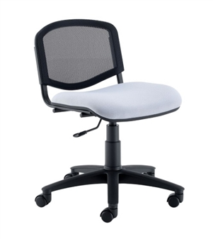 Flipper Mesh Back Swivel Chair In Vinyl