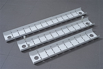 Width Adjustable Cable Trays (For Back-To-Back Desks)
