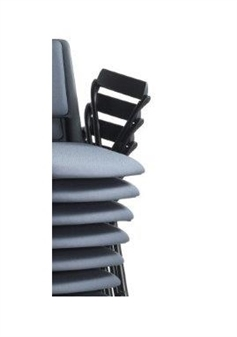 Flip Up Armrests For Easy Stacking
