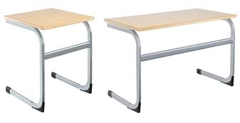 Cantilever Classroom Desks MDF Edge