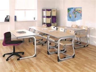 Cantilever Classroom Desks