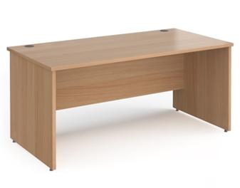 1600mm Contract Panel End Rectangular Desk - BEECH