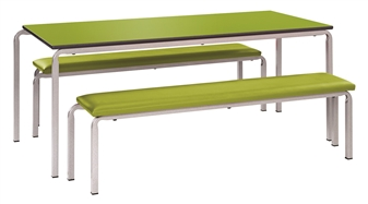 Gala Dining Set (1 x Table & 2 x Benches)