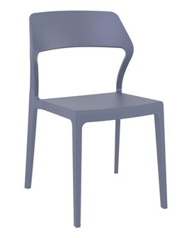 Snowden Side Chair - Dark Grey