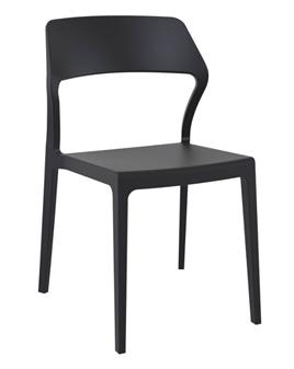 Snowden Side Chair - Black