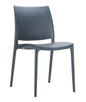 Gusto Side Chair - Dark Grey