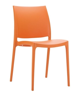 Gusto Side Chair - Orange