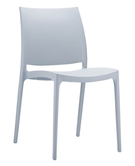 Gusto Side Chair - Silver