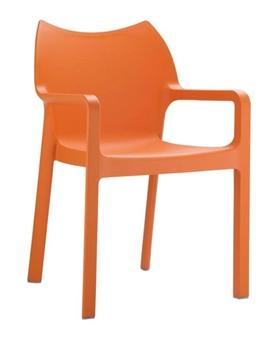 Plaza Armchair - Orange