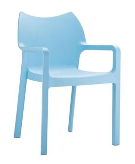 Plaza Armchair - Light Blue