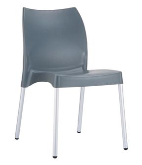Midas Side Chair - Dark Grey