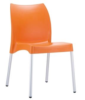 Midas Side Chair - Orange