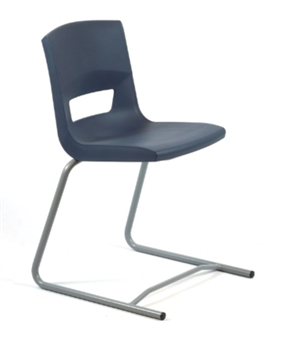 Postura Plus Reverse Cantilever Chair - Slate Grey