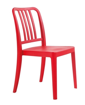 Lava Dining Chair - Red
