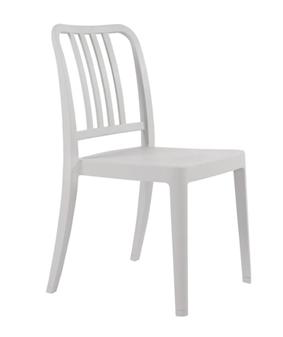 Lava Dining Chair - Warm Grey