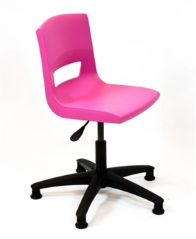 Postura Plus Task Chair - Nylon Base + Glides