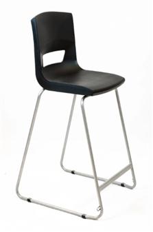 Postura Plus High Chair - Jet Black