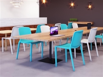 Rix One Piece Stacking Chairs
