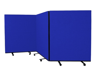 Mobile Floorstanding Partition Screens - 1500mm High