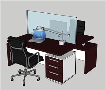 Deskshield Freestanding Acrylic Screen