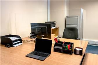 Deskshield Freestanding Acrylic Screens