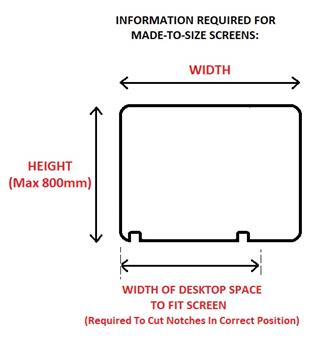 Made-To-Size Screens - Required Information