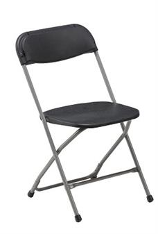 Fold Flat Chair Charcoal