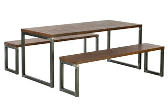 Urbane Table & Benches