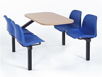 Stellar Fast Food Unit - 4-Seater - Access 1 Side