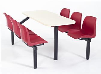 Stellar Fast Food Unit - 6-Seater - Access 1 Side