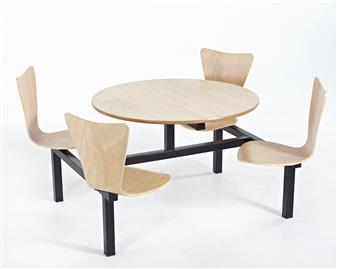 Keeler Fast Food Unit - 4-Seater Round