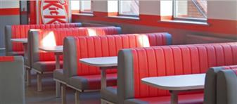 Dyad Fast Food Upholstered Seating Units