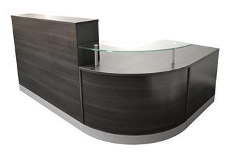 Reception Counter Desk - Anthracite