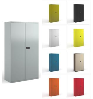 Colour Steel Stationery Cupboards