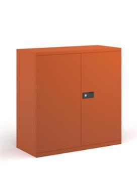 1000 High Stationery Cupboard - Orange