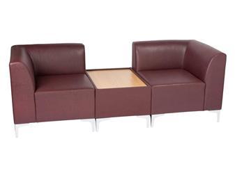 Stirling Modular Reception Seating - Vinyl
