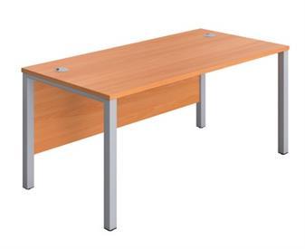 Goalpost Leg Desk - Beech