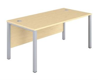 Goalpost Leg Desk - Maple