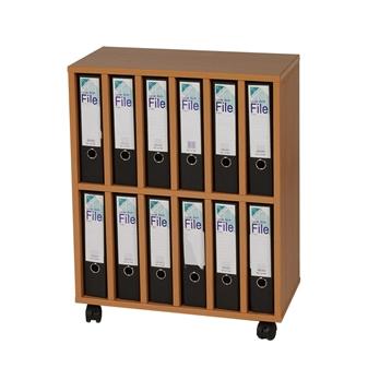 Mobile A4 Lever Arch File Storage Unit