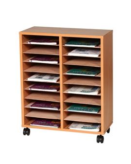 20 Shelf Literature Sorter - Mobile