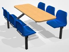 Value Range Economy 6-Seater Unit - Access Both Sides