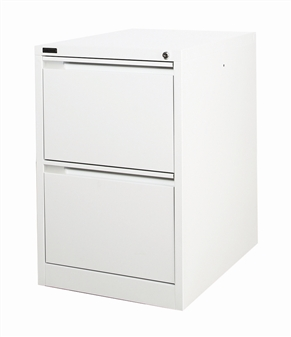 Grey 2-Drawer Filing Cabinet