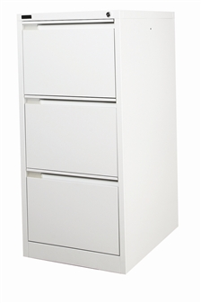 Grey 3-Drawer Filing Cabinet