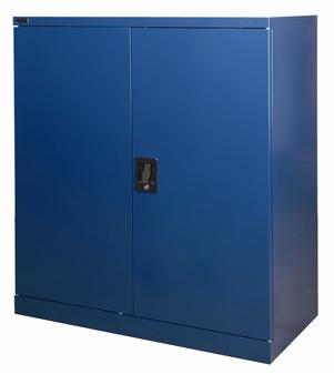Half-Height Blue Stationery Storage Cupboard