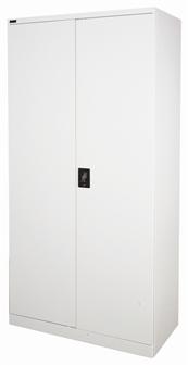 2m Grey Stationery Storage Cupboard