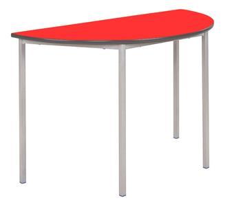 Fully Welded Semi-Circular Classroom Table